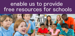enable us to provide free resources for schools